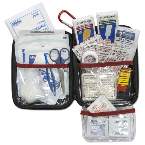 first aid kit emergency travel bag